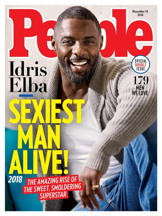 IDRIS ELBA - PEOPLE'S MAGAZINE'S SEXIEST MAN ALIVE