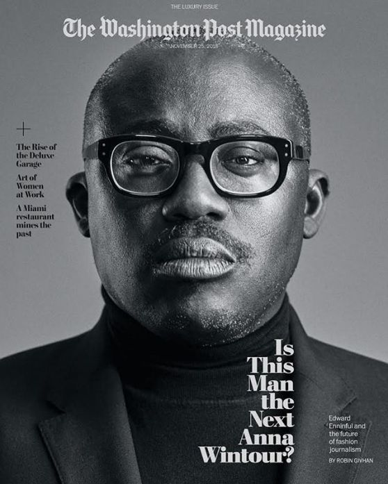 edward enniful - editor-in-chief - british vogue